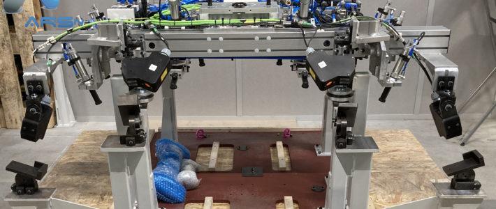 Préhenseur robot miroiterie